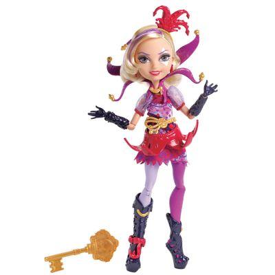 Boneca Fashion - Ever After High - No País das Maravilhas - Courtly Jester - Mattel