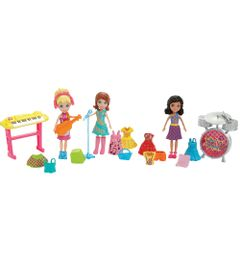 Playset-com-3-Bonecas---Polly-Pocket-e-Banda-de-Formatura---Mattel