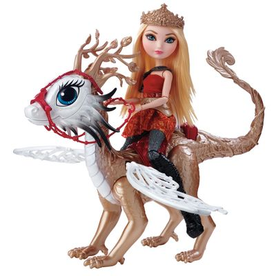 Boneca Fashion - Ever After High - Jogos dos Dragões - Apple White e Braebyrn - Mattel