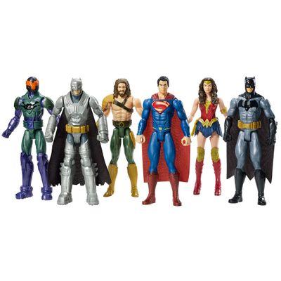 Conjunto de Bonecos Articulados - 30 cm - Batman Vs Superman - A Origem da Justiça - Mattel