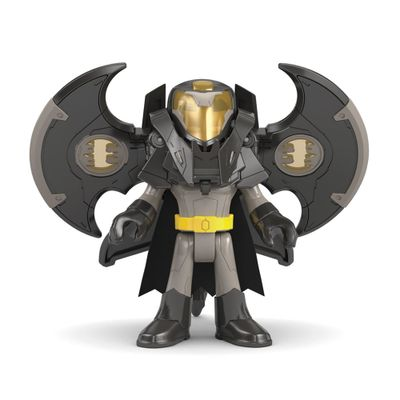 Figura de Ação Imaginext - DC Super Friends - Batman com Armadura Drone - Fisher-Price