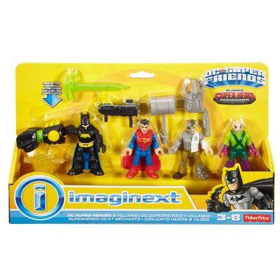 Playset Imaginext - Batman Vs Superman - A Origem da Justiça - Batalha de Heróis e Vilões - Fisher-Price