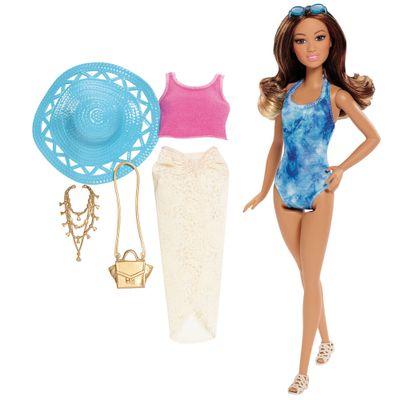 Boneca Barbie Colecionável - Férias de Verão - Morena - Mattel