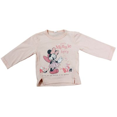 Blusa Manga Longa - Rosa - Minnie Mouse Fada - Disney