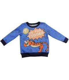 Blusao-de-Moletom---Azul-e-Marinho---Tigrao---Winnie-The-Pooh---Disney
