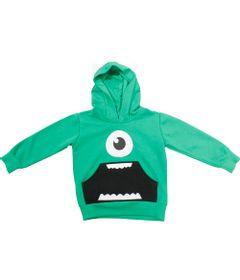 Blusao-de-Moletom-com-Capuz---Verde---Mike-Wazowski---Monstros-S-A---Disney