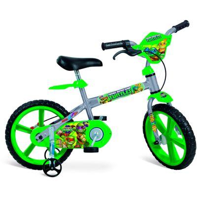 Bicicleta Aro 14 - Tartarugas Ninja - Bandeirante