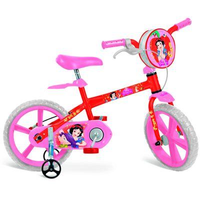 Bicicleta Aro 14 - Princesas Disney - Branca de Neve - Bandeirante