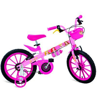 Bicicleta Aro 16 - Princesas Disney - Bandeirante