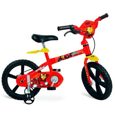 Bicicleta Aro 14 - Iron Man - Bandeirante