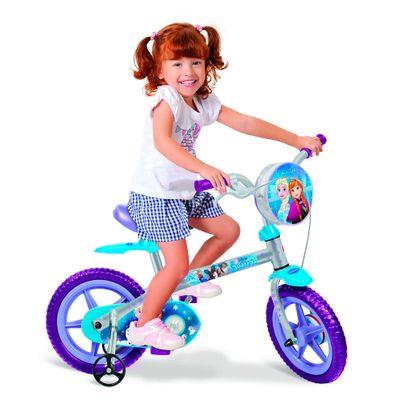Bicicleta Aro 12 - Dizney Frozen - Bandeirante - Disney