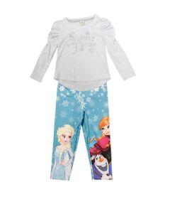 Conjunto-Blusa-Manga-Longa-e-Legging---Branco-e-Azul---Elsa-Anna-e-Olaf---Frozen---Disney---1