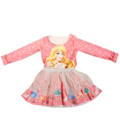 Vestido-Manga-Longa-com-Tule---Rosa---Princesas---Disney---1