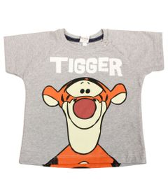 Camiseta-Manga-Curta---Mescla---Tigrao---Winnie-The-Pooh---Disney---P