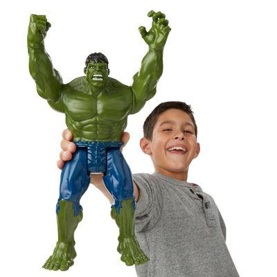 Boneco Articulado 30cm - Titan Hero Series - Marvel Avengers - Hulk - Hasbro - Disney