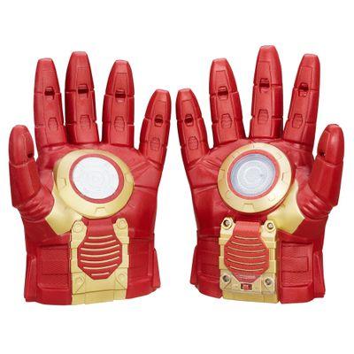 Luvas com Efeitos Sonoros Marvel - Capitão América Guerra Civil - Homem de Ferro - Hasbro - Disney