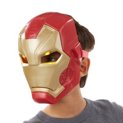 Máscara Eletrônica - Marvel - Capitão América Guerra Civil - Homem de Ferro - Hasbro - Disney