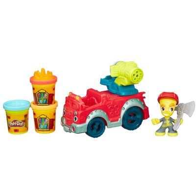Massa de Modelar - Play-Doh Town - Carro de Bombeiros - Hasbro