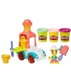 Massa-de-Modelar---Play-Doh-Town---Carro-de-Sorvete---Hasbro