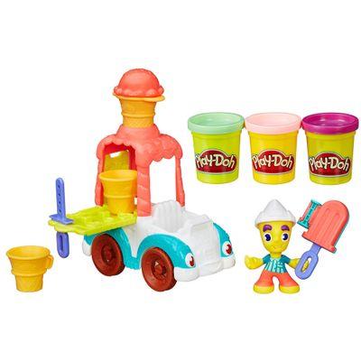 Massa de Modelar - Play-Doh Town - Carro de Sorvete - Hasbro