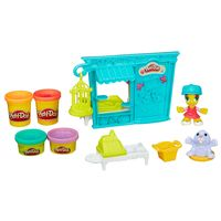 Playset-e-Massa-de-Modelar---Play-Doh-Town---Tenda-de-Mascotes-Pet-Shop---Hasbro