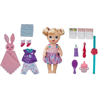 Boneca Bebê - Baby Alive - Festa do Pijama - Loira - Hasbro