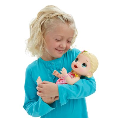 Boneca Bebê - Baby Alive - Hora do Lanchinho - Loira - Hasbro