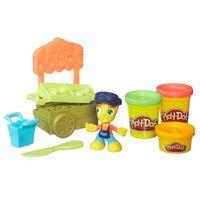 Massa-de-Modelar-com-Figura-e-Veiculo---Play-Doh-Town---Barraca-de-Frutas---Hasbro