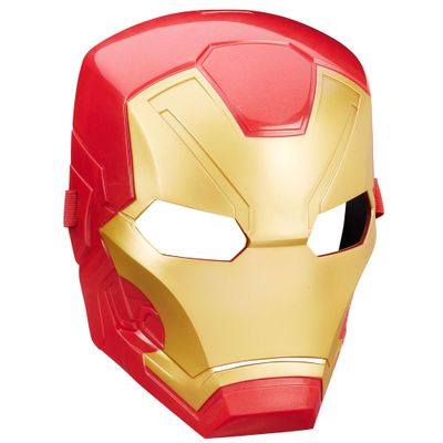 Máscara - Marvel Avengers - Capitão América Guerra Civil - Homem de Ferro - Hasbro - Disney