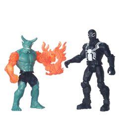 Pack-2-Figuras-Articuladas-15cm---Marvel-Ultimate-Spider-Man---Sinister-6---Agente-Venon-Vs-Duende-Verde---Hasbro