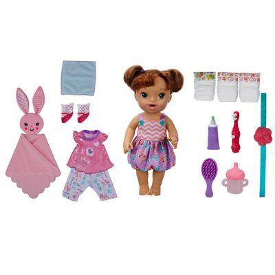 Boneca Bebê - Baby Alive - Festa do Pijama - Morena - Hasbro
