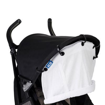 Sombrinha para Carrinho de Bebê - Branco - KaBaby