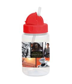 Copo-com-Canudo-Retratil---Personagens-Disney-Star-Wars---O-Despertar-da-Forca---340Ml---BabyGo