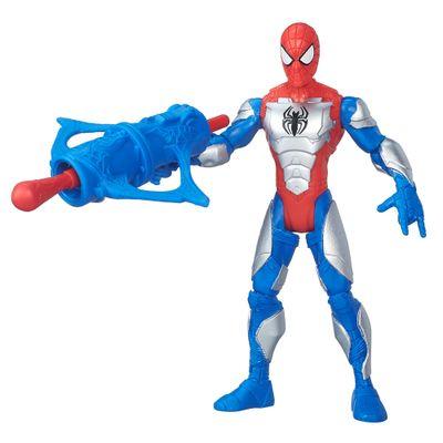 Boneco 15 cm - Marvel Ultimate Spider-Man Sinister 6 - Homem Aranha com Armadura - Hasbro - Disney
