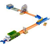 Conjunto-de-Pista-com-Lancador---Hot-Wheels---Bau-de-Lixo---Mattel