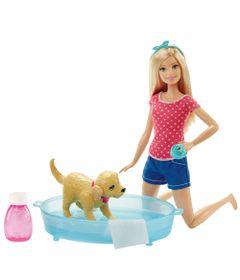 Boneca-Barbie---Familia-da-Barbie---Banho-do-Cachorrinho-da-Barbie---Mattel