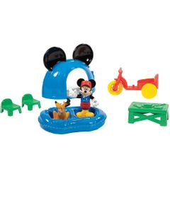 Playset-Mickey-Mouse-Club-House---Acampamento-do-Mickey-Mouse-com-Pluto---Mattel