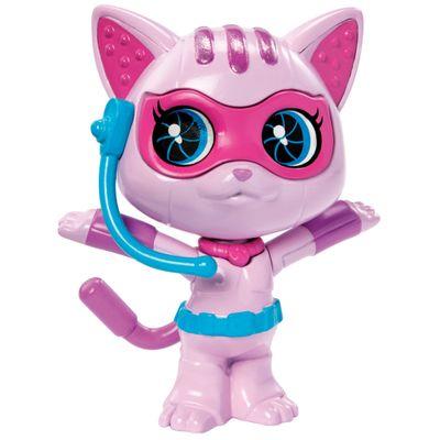 Mini Boneca Pet Barbie - Barbie e As Agentes Secretas - Gatinho - Mattel