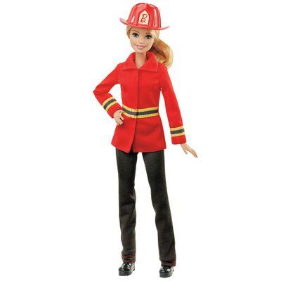 Boneca Barbie - Série Profissões - Bombeira - Mattel