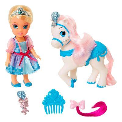Boneca-Minha-Pequena-Princesa-com-Pet-e-Acessorios---Princesas-Disney---Cinderela---Mimo