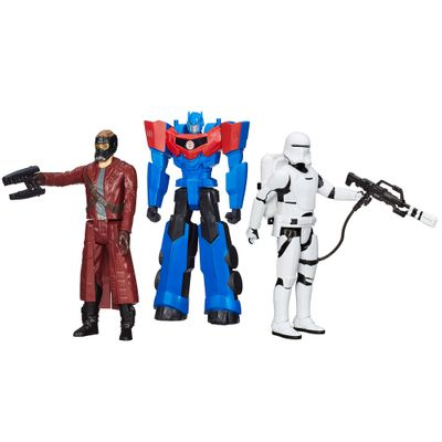 100121772-Kit-Personagens-Favoritos---Figuras-Articuladas-30-Cm---Titan-Hero-Star-Lord---Flametrooper-e-Optimus-Prime---Hasbro
