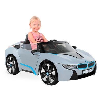 Mini Veículo Elétrico com Controle Remoto - BMW Spider Prata - 12V - Bandeirante - Disney