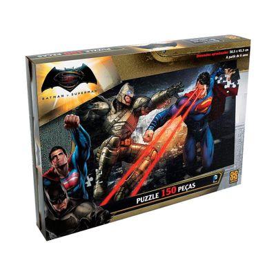 Quebra-Cabeça - DC Comics - Batman vs Superman - 150 Peças - Grow