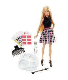 Boneca-Barbie---Conjunto-Salao-de-Cores---Barbie-Com-Acessorios-de-Cabelo---Mattel