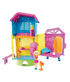 Playset-e-Mini-Boneca-Polly-Pocket---Club-House-da-Polly---Mattel