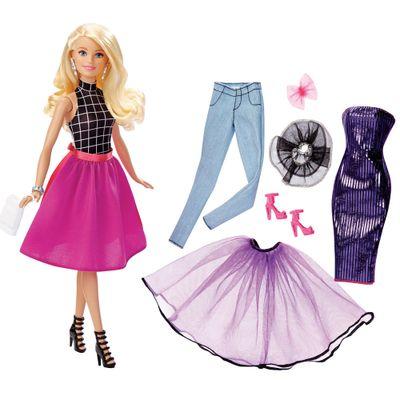 Boneca Barbie com Acessórios - Looks Mix - Loira - Mattel