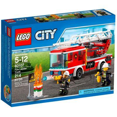 60107 - LEGO City - Caminhão de Bombeiros com Escada