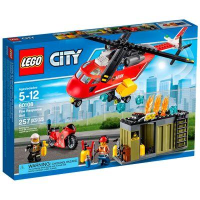 60108 - LEGO City - Unidade do Corpo de Bombeiros
