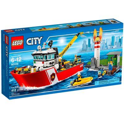 60109 - LEGO City - Barco de Combate ao Incêndio