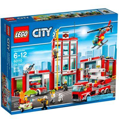 60110 - LEGO City - Quartel dos Bombeiros